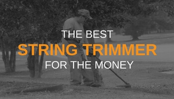 THE BEST STRING TRIMMER FOR THE MONEY