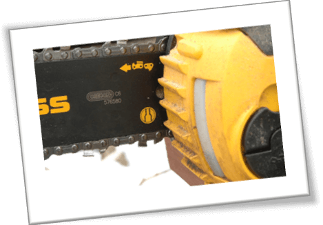 dewalt chainsaw