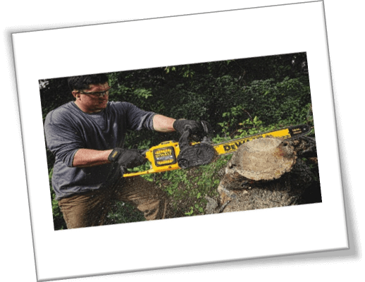dewalt flexvolt chainsaw