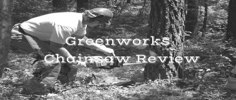 greenworks chainsaw