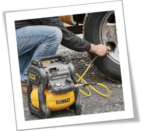 dewalt 6 gallon air compressor