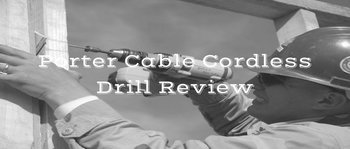 porter cable cordless drill