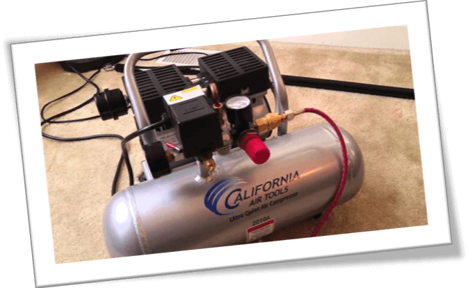 california 2075A air compressor