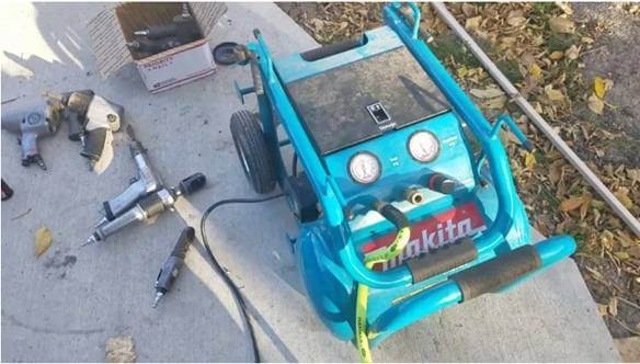 makita portable air compressor