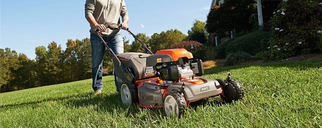 husqvarna self propelled lawn mower