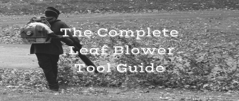 leaf blower buying guide