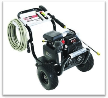 gas pressure washer