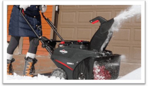 three stage snow blower