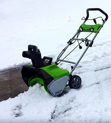 greenworks electric snow blower