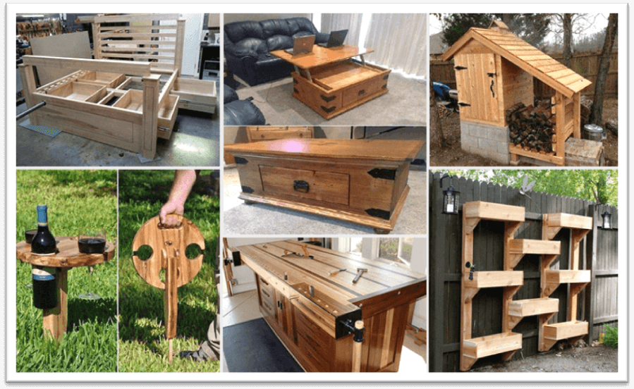 Amazing Woodworking Ideas And Plans For Newbies And Pros ...